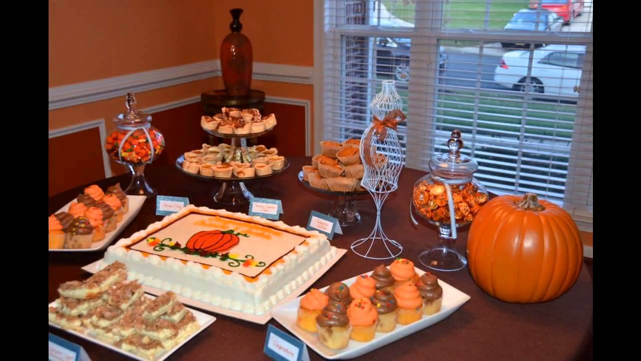 Easy fall baby shower decorating ideas youtube