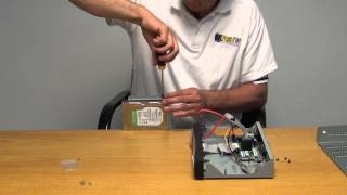 How to Install Hard Drive in AHD DVR