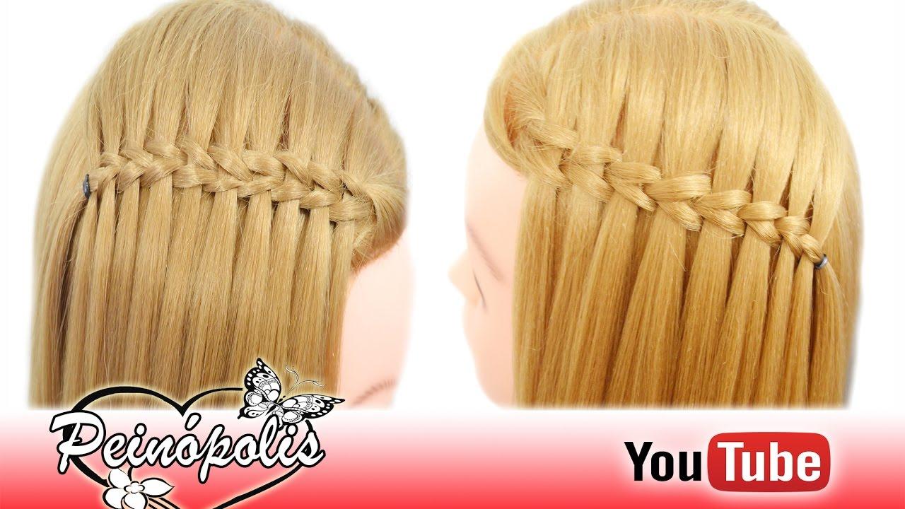 Pasos de peinados con trenzas