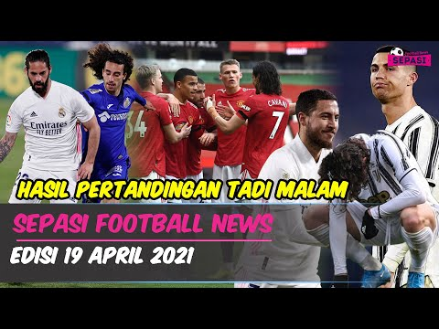 MU Menang, Greenwood Moncer 😎 Tanpa Ronaldo Juve Keok 😨 Madrid Hanya Imbang 💥 Hazard Siap Reuni