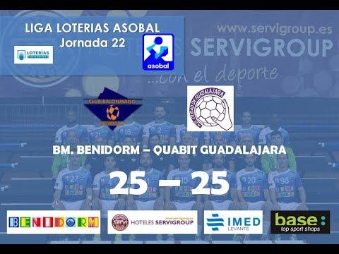 Post Liga Loterias Asobal 2018 03 17 BM Benidorm   Quabit Guadalajara