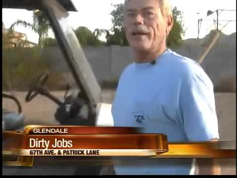 It's a dirty job, but someone's got to do it in Glendale