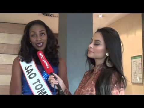 Miss Intercontinental 2015 - Miss São Tomé & Príncipe Interview