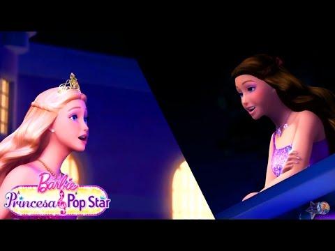 Barbie A Princesa & A Pop Star   Sua Vida Eu Quero Ter - Videoclipe♫ (HD)