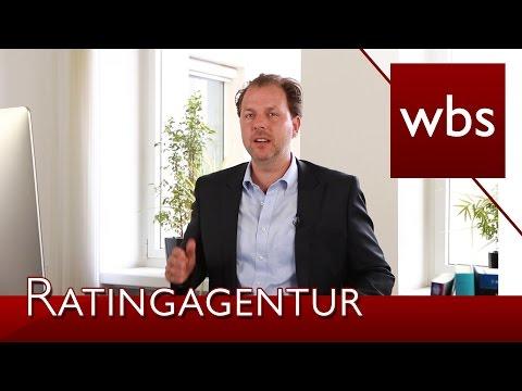 Wie kommt Scoring von Rating-Agenturen zustande? | Rechtsanwalt Christian Solmecke