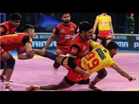 Pro Kabaddi 2018 Qualifier 1   Gujarat Fortunegiants Vs Bengaluru Bulls  Hindi