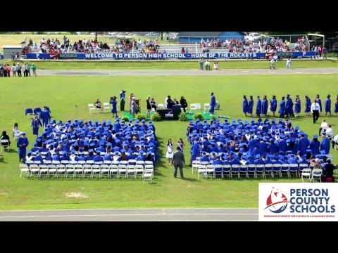 Person High School - Graduation - Class of 2018