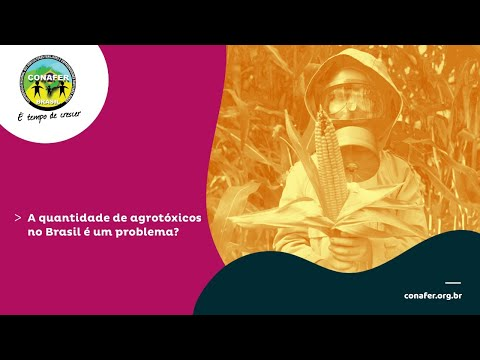 A quantidade de agrotóxicos no Brasil é um problema?