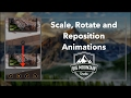 Fun Animations with CGAffineTransform (Scale, Rotate, Reposition) Tutorial (iOS, Xcode 8, Swift 3)