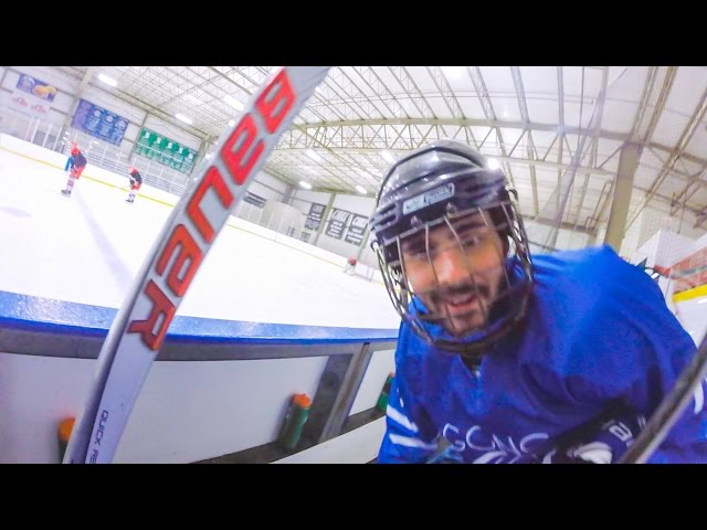 GoPro Hockey | SNEAKING A GOPRO ONTO THE ICE?! (HD)