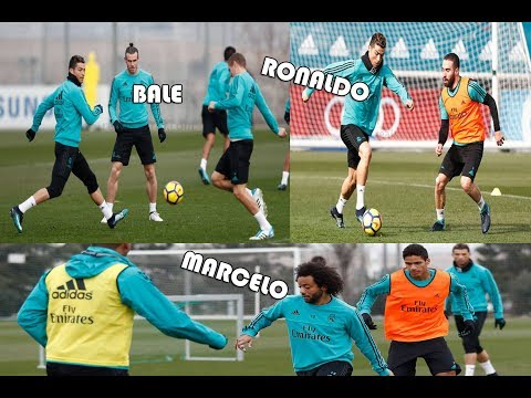 Real Madrid First Training Session Before Heading To Valencia