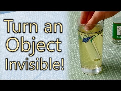How to Turn Something Invisible!