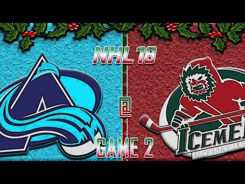 NHL 18 - Holiday Special '17 - Kansas City Blizzards @ Houston Ice Men R1G2