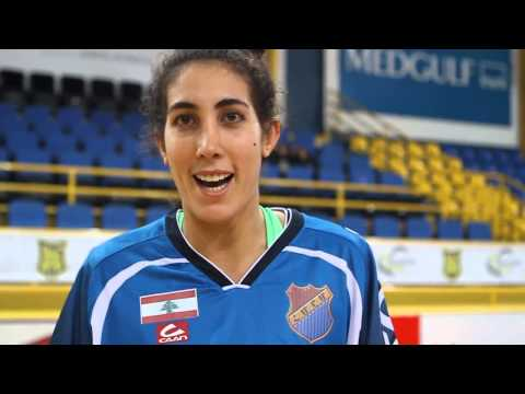 Post Game Interview - Aida Bakhos - Arab Youth VS Homenetmen Antelias