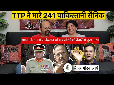 Major Gaurav Arya Shows Mirror to Pakistan & ISI on Afghanistan   Indian American Reactions !!