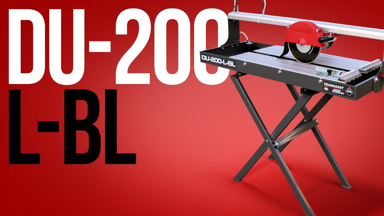 Rubi diamant du 200 l tile cutter youtube dailygadgetfo Gallery