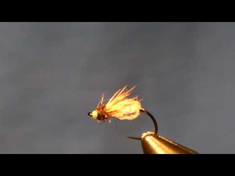 LaFontaine Sparkle Caddis Pupa Fly Tying