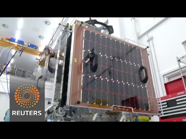 Satellite constellation offers video of anywhere on earth