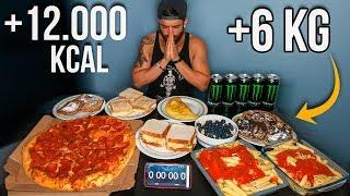 ME COMO +5KG DE COMIDA (12.000 KCAL)   MICHAEL PHELPS CHALLENGE