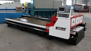 CNC V-groover Cutting Machine / V Grooving Machine / V Groover Cutter Manufactured by KRRASS