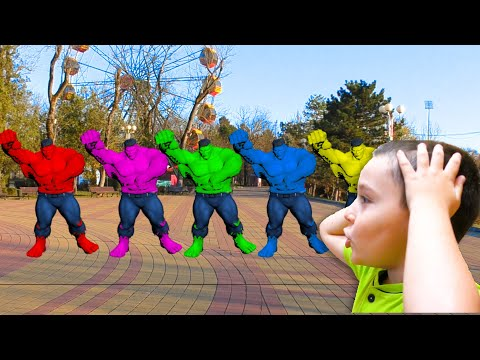 Superheroes In Real Life | Nart And Halk Dance Challenge | Kids Songs & Nursery Rhymes