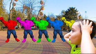 Superheroes in real life | Superheroes dancing with Nart | Kids songs