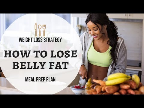 how-to-lose-belly-fat-|-meal-prep-plan