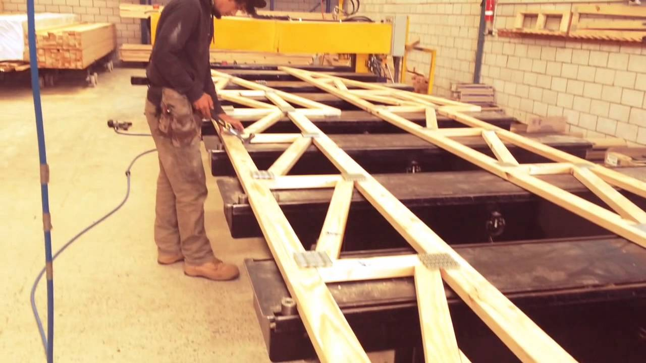 Timber Roof Truss Youtube