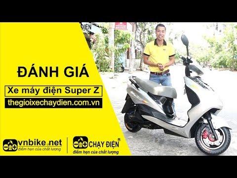 Đánh giá xe máy điện Super Z