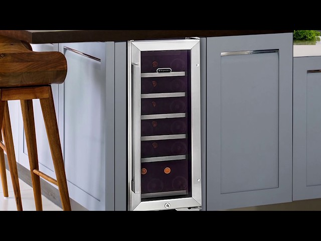 BWR-18SD Whynter 18 Bottle Built-in Wine Refrigerator