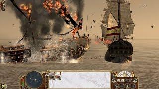 Empire Total War Batalla Naval Español.