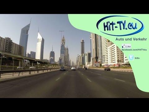 Fahrt von Sharjah nach Dubai (Teil 1) 11.10.2014