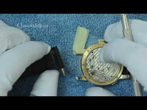 Как поменять ремешок на часах. Инструкция
