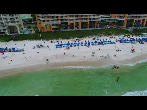 Panama City Beach (partial sun) 5 with a DJI Phantom Pro 4 Drone