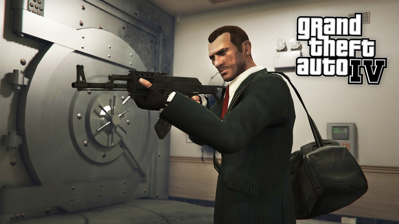 bank robbery mission gta 4