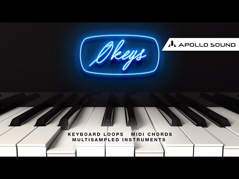 Okeys ☆ Luxurious Smooth Keys & Midi Chord Progressions