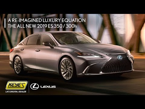 Sneak Peak At The 2019 Lexus Es 350 300h Hybrid Model Keyes