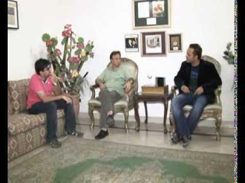 Adam Khan's interview by Shehryar Geo's Headlines news reporter
