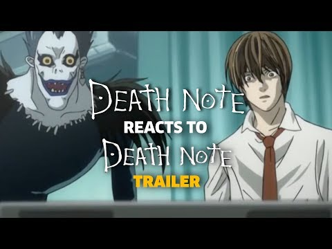 DEATH NOTE reacts to DEATH NOTE Trailer (Parody)