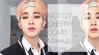 figcaption NCT 127 CHERRY BOMB Makeup | Taeyong