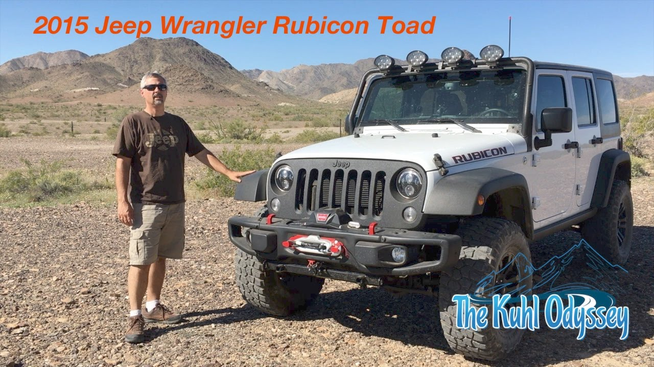 2015 jeep rubicon toad youtube rh youtube com Jeep Wiring Diagram 2006 jeep wrangler toad wiring kit cooltech