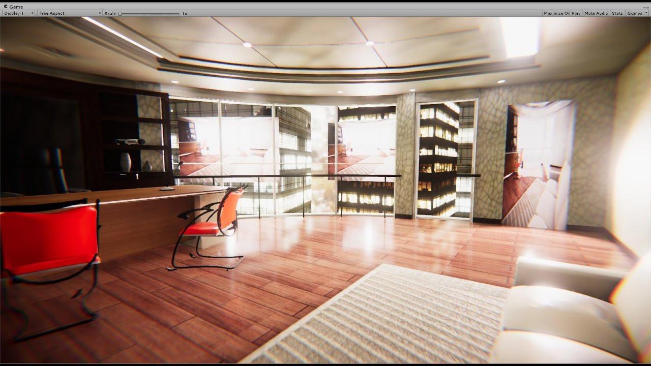 Realistic Interior Lighting In Unity 5.6 - YouTube