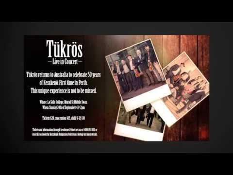 Tükrös Live in Concert - Perth, Australia, Sun 24 Sep 2017