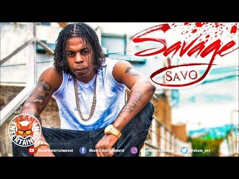 Savage Savo - Tell A Gal [Black Widow Riddim, Vol. 1] August 2018