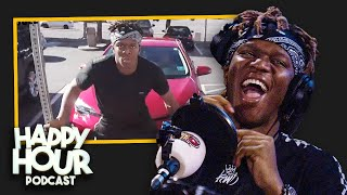 KSI & JOE WELLER'S OFF-CAMERA FIGHT IN CAR PARK...