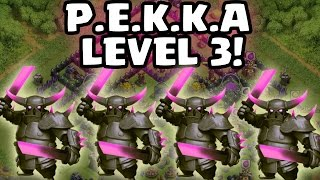 PEKKA ONLY! || CLASH OF CLANS || Let's Play CoC [Deutsch/German HD]
