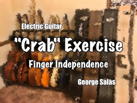 Guitar Lesson - Crab Exercises - Left Hand Finger Independence
