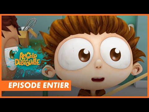 ANGELO LA DEBROUILLE - Episode complet : Télépathie ( Dessin animé TéléTOON+ )