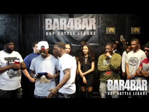BAR4BAR RAP BATTLE LEAGUE PRESENTS - BOBBY O VS S DOT