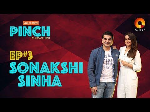 Sonakshi Sinha | Quick Heal Pinch by Arbaaz Khan | QuPlayTV
